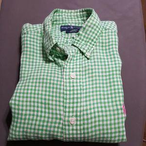 Ralph Lauren S/S button down shirt, sz S